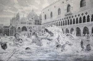TSEKH galerijos gimtadienio proga – I. Petrovo akvarelių paroda
