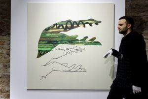 """Aisčio Kavaliausko parodoje """"Šešėliai"""" – gatvės meno įvaizdžiai"""