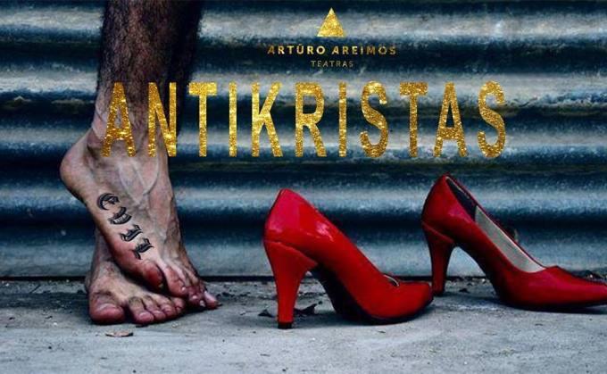 """A. Areimos """"Antikristas"""" – teatro nemėgstantiems žmonėms"""