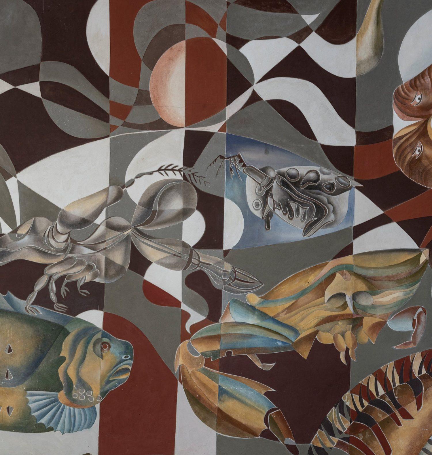 """Freskos fenomenas – Angelinos Banytės parodoje """"Monumentalumas tyloje"""""""