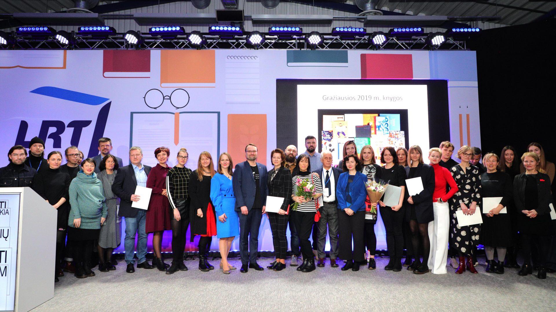 Knygos meno konkurso laureatai