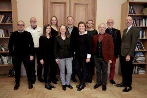 Lietuvos architektūros meno tarybai pirmininkaus Audrius Ambrasas