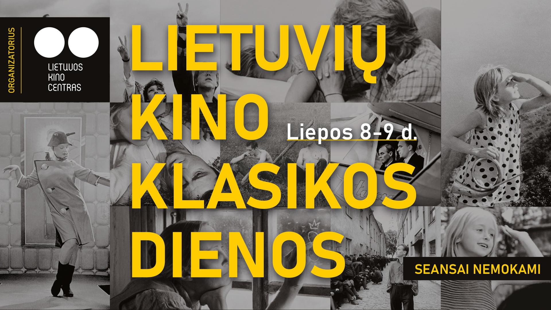 Nemokami lietuvių kino klasikos filmai – dešimtyje šalies miestų (PROGRAMA)
