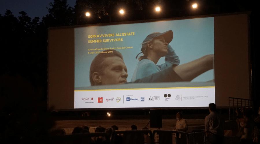 """Filmo """"Išgyventi vasarą"""" peržiūra pažymėta naujos kino partnerystės Romoje pradžia"""