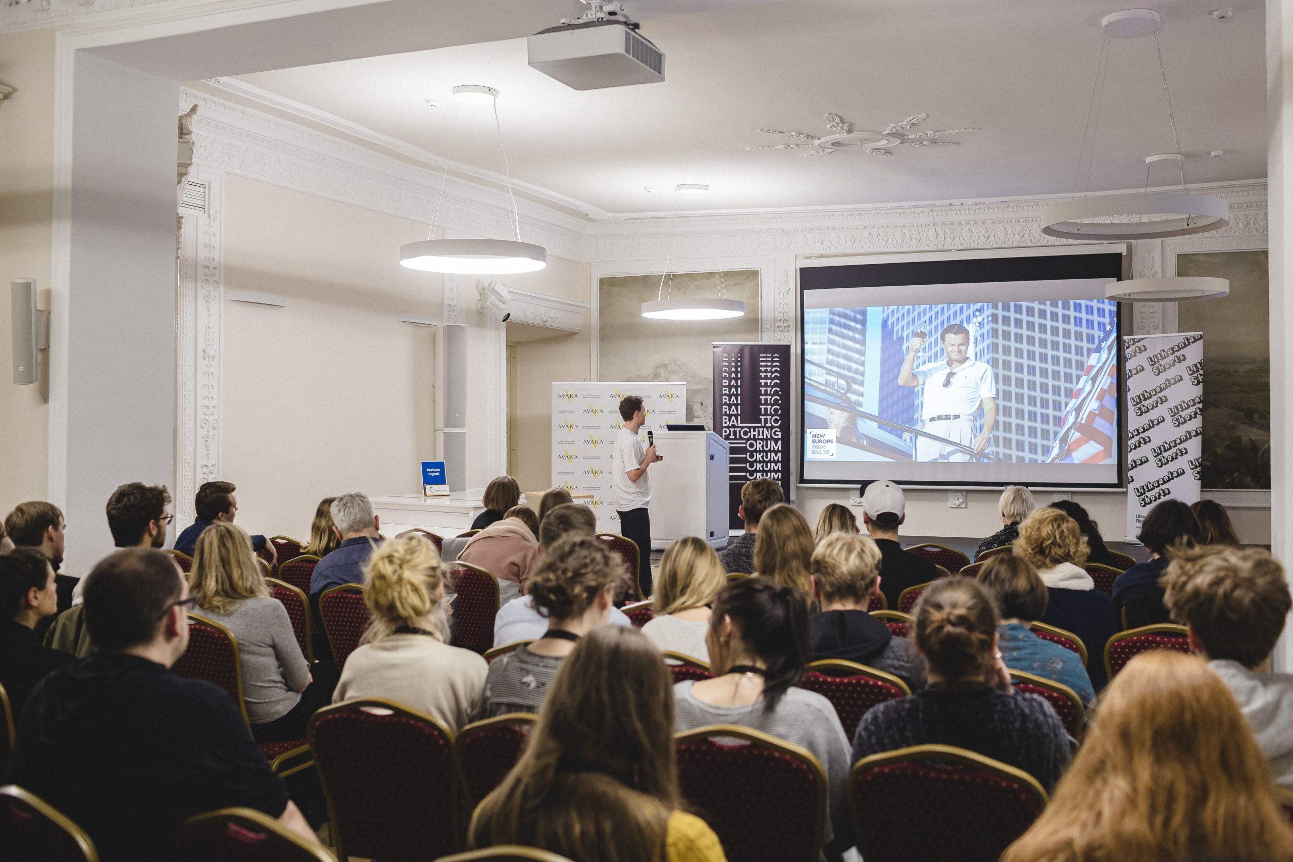 """8-asis """"Baltic Pitching Forum"""" kviečia registruotis į atviras paskaitas"""