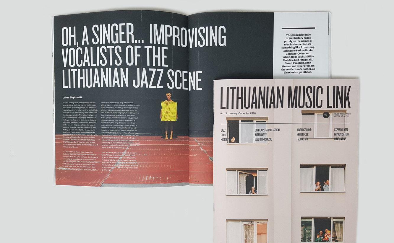 """Muzika nesustojo: naujas žurnalo """"Lithuanian Music Link"""" numeris"""