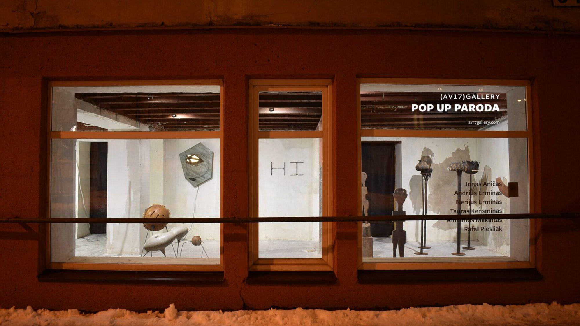 Vitrinoje Pylimo gatvėje – galerijos (AV17) paroda